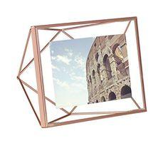 Umbra Prisma Picture Frame, 4x6 in Copper