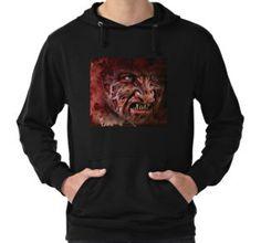 Lightweight Hoodie #horror #nightmare #dreams #evil #demon #monster #devil #dead #gothic