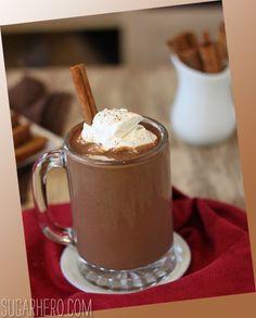 Pumpkin Hot Chocolate -