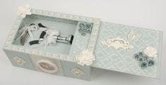 Коробочка с выдвижной крышкой, для вина и бокалов. Отличный подарок своими руками! (12) (700x360, 134Kb)