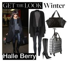 """""""Get the look- Halle Berry"""" by eking1989 ❤ liked on Polyvore featuring Giuseppe Zanotti, STELLA McCARTNEY, Phase Eight, Chanel, women's clothing, women's fashion, women, female, woman and misses"""