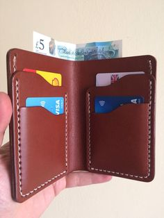 Handmade Leather Wallet - Bifold | eBay