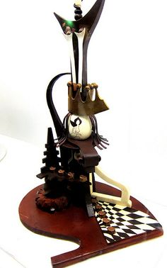 Abstract Chocolate Sculptures