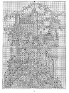 Castle Ridge - 3/3 Solo Patrones Punto Cruz (pág. 295) | Aprender manualidades es facilisimo.com
