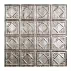 The Fasade Traditional 4 2 ft. x 2 ft. PVC Cross Hatch Silver Lay-in Ceiling Tile provides the classic look of a traditional tin ceiling. Made of rugged PVC. This textured panel resists water and corrosion. It easily lays into your existing ceiling grid. Pvc Ceiling Tiles, Ceiling Grid, Ceiling Panels, No Ceilings, Backsplash Panels, Style Tile, Traditional, Silver, Things To Sell