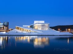 size: Photographic Print: Oslo Opera House, Snohetta Architect Poster by Marco Cristofori : Artists Architecture Jobs, Landscape Architecture Design, Minimalist Architecture, Commercial Architecture, Drawing Architecture, Chinese Architecture, Futuristic Architecture, Architecture Details, Oslo Opera House