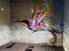 STREET ART UTOPIA » We declare the world as our canvas » Street Art Bird by L7m in Brazil 2015