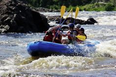 Rafting on the Exploits River