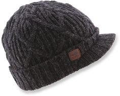 The Coal Yukon Brim beanie offers a traditional fit and features a roll-up cuff with a brim.