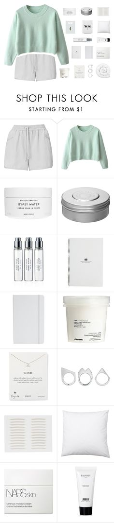 """mara"" by cashmer-e ❤ liked on Polyvore featuring Whistles, Byredo, Hermès, ASOS, Davines, Dogeared, Moratorium, NARS Cosmetics, Balmain and Brinkhaus"