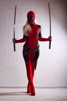Lady Deadpool #cosplays
