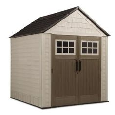 Rubbermaid 7 ft. x 7 ft. Big Max Storage Shed-1887154 at The Home Depot