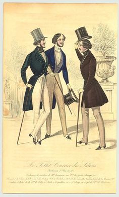 Early Victorian gentlemen