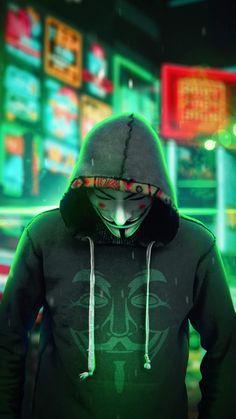 Anonymus Man Hoodie iPhone Wallpaper - iPhone Wallpapers