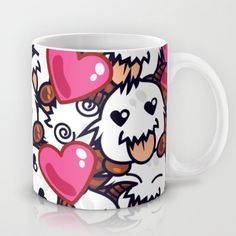 Buy League of Legends Poro Party by SylvieW as a high quality Mug. Worldwide shipping available at Society6.com. Just one of millions of products…