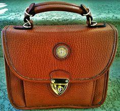 Pierre Balmain Vintage Leather Handbag by loveusati on Etsy