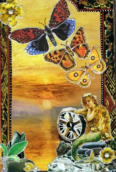"""Just what I need right now!    Soul Collage Card """"Letting Go"""" by Linda Carmichael"""