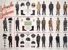 Luftwaffe Uniforms.