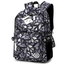 Factory wholesale backpack canvas bag school bag for primary students MB-097