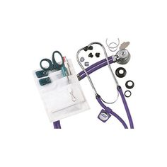 ADC Sprague Stethoscope & Color Coordinated Accessories Nurse Combo Kit | allhea