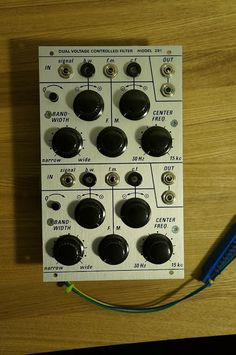 MATRIXSYNTH: Dual Bandpass Filter Model 291r in Buchla-format