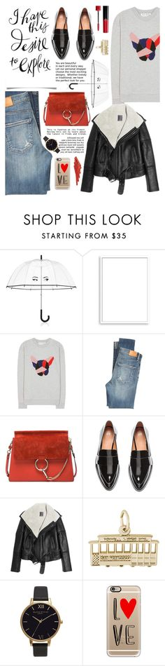 """San Francisco Travel Outfit"" by glamorous09 ❤ liked on Polyvore featuring Kate Spade, Bomedo, Être Cécile, Citizens of Humanity, Chloé, Lot78, Rembrandt Charms, Olivia Burton, Casetify and Giorgio Armani"