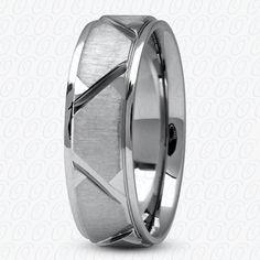 MODERN PALLADIUM WEDDING BAND