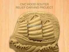 CNC wood router for 3D relief carving project