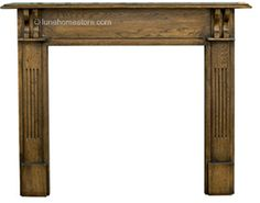 Earlswood Fireplace Surround Solid Oak      Solid Oak     Available as Distressed finish     (shown)     Suitable for all our cast iron insets Online Sale Price: £375.00 r.r.p: £461 saving: £106