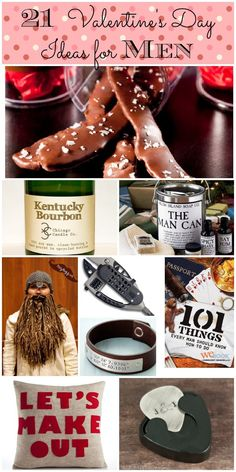 Unique and creative Valentines Day gifts for men that don't suck.