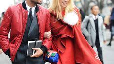 Das jaquetas vermelhas e roupas para homens Primavera / Verão 2015