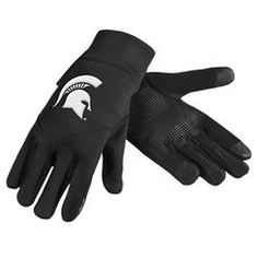Michigan State Spartans Texting Gloves