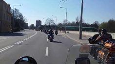 Věra Špinarová - poslední rozloučení. Motorkáři HOGU a SCRC OSTRAVA. The Originals, World, The World