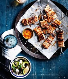 Spend less time cooking and more time relaxing at your next barbecue - these char-grilled meats and vegetables are low on labour but deliver big on juicy and smoky flavours.