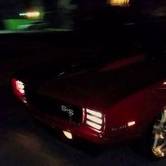 video clip of 69 camaro split 5 star wheels brushed red pro touring billet