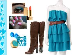 """""""Blue"""" by ktj101 ❤ liked on Polyvore"""
