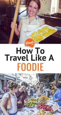 How to travel like a foodie, including tips on food tours, cooking classes, and more Foodie travel Food and Travel: 7 Ways To Travel Like A True Foodie Ways To Travel, Travel Tips, Travel Info, Hotels, Cooking Classes, Culinary Classes, Cooking Games, Cooking Food, Best Places To Eat