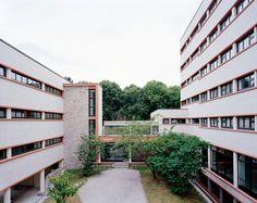 Student Residency - Maison du Mexique Rehabilitation,© Gerardo Custance