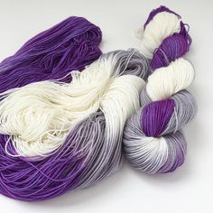 An icy chill early this morning and damp skeins of Yeti Love Note must mean fall is almost here! Hurray for hand-knit socks season! #toilandtroubleyarn #knitting #yarn