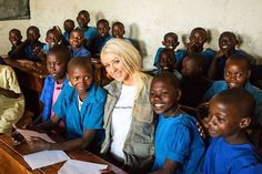 World Food Programme Ambassador Against Hunger Christina Aguilera traveled to Rwanda to learn more about hunger relief. http://j.mp/1dWwscw