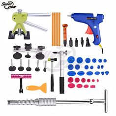 Super PDR Tools High Quality Car Paintless Dent Repair Tools Slide Hammer Dent Puller 220v Glue Gun Pulling Bridge Dent Tabs (32386184401)  SEE MORE  #SuperDeals