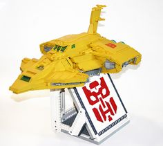 """LEGO Autobot Ark by """"Orion Pax"""", via Flickr"""