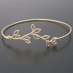 olive branch bracelet