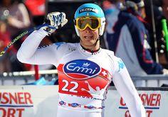 Christof Innerhofer won the Super G