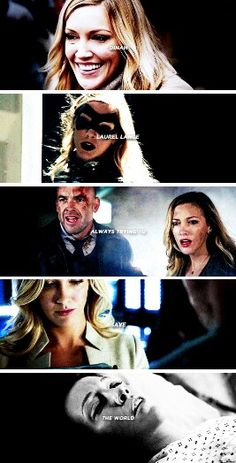 R.I.P Dinah Laurel Lance 1985 - 2016 #Arrow #4x18