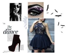 """sexy,hot, dance"" by little-girl24 ❤ liked on Polyvore featuring Anja and Christian Louboutin"