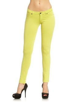 2B Color Punch Jegging 2b by bebe. $29.95