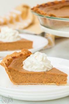 Easy Homemade Pumpkin Pie Recipe - Family Fresh Meals The Best Pumpkin Pie Recipe