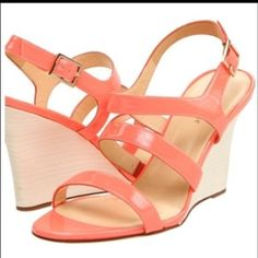 ⭐️KATE SPADE WEDGES SANDALS⭐️ USED BUT IN GOOD CONDITION KATE SPADE CORAL WEDGES SANDALS  kate spade Shoes Sandals