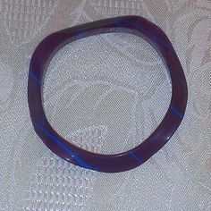 Vintage Purple Plastic Bracelet from LadyRay's Jewelry and Emporium/Marsha R. Moore for $5.00 on Square Market